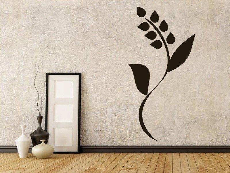 Samolepky na zeď Rostlina 0189 - Samolepící dekorace a nálepka na stěnu