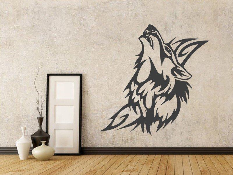 Samolepky na zeď Vlk 004 - Samolepící dekorace a nálepka na stěnu