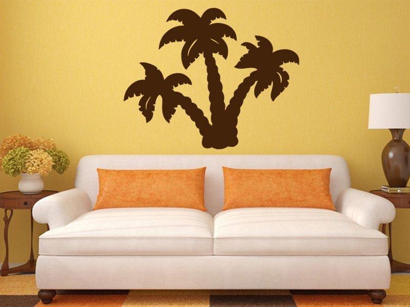 Samolepky na zeď Palmy 004 - Samolepící dekorace a nálepka na stěnu