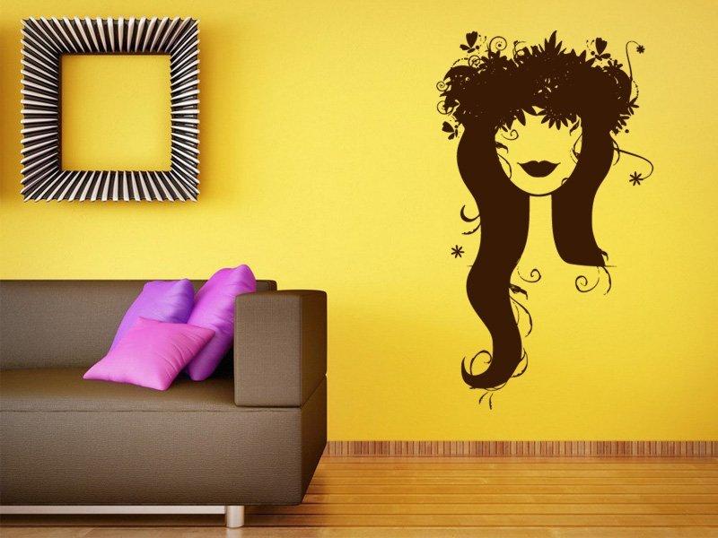 Samolepky na zeď Žena 011 - Samolepící dekorace a nálepka na stěnu