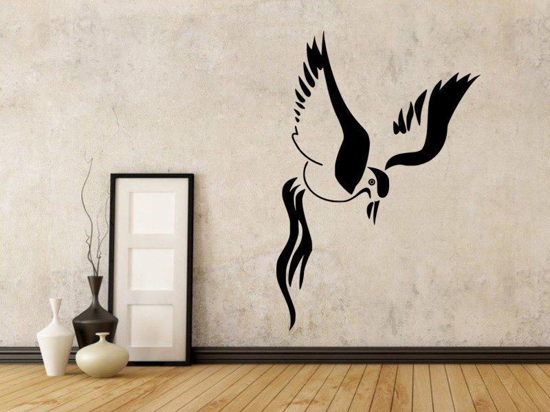 Samolepky na zeď Pták 015 - Samolepící dekorace a nálepka na stěnu