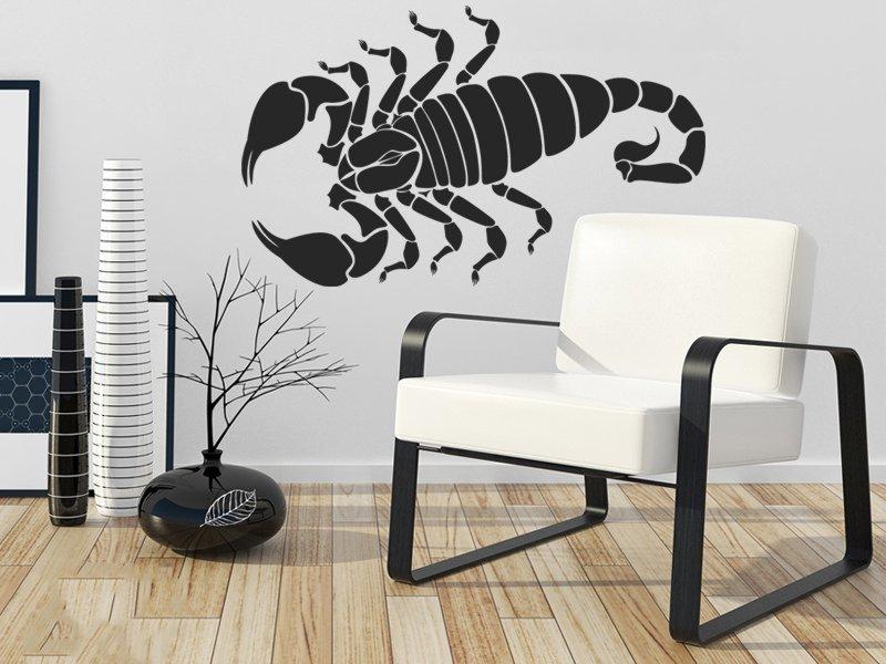 Samolepky na zeď Škorpión 004 - Samolepící dekorace a nálepka na stěnu