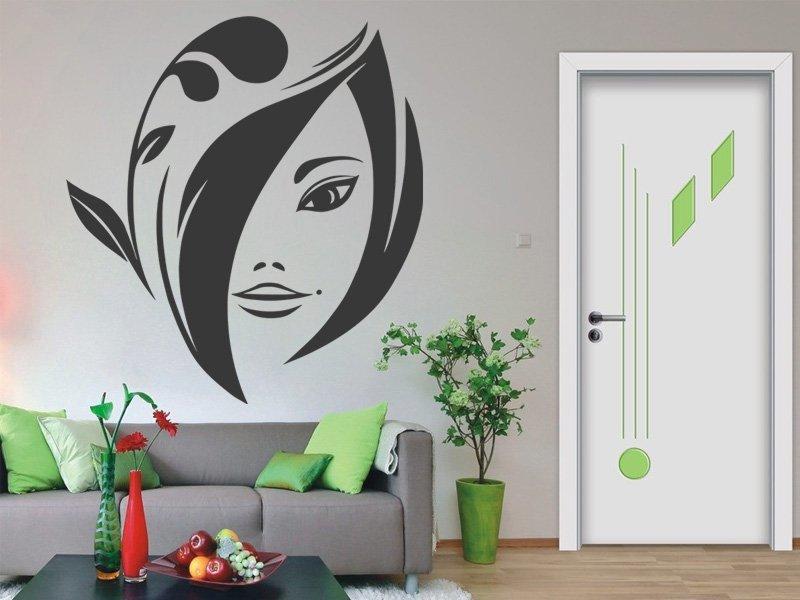 Samolepky na zeď Žena 036 - Samolepící dekorace a nálepka na stěnu