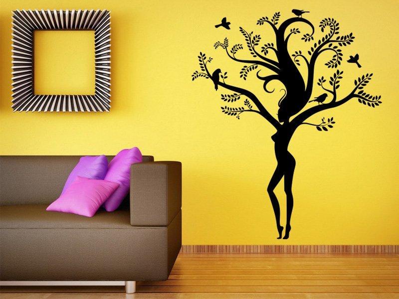 Samolepky na zeď Strom 034 - Samolepící dekorace a nálepka na stěnu