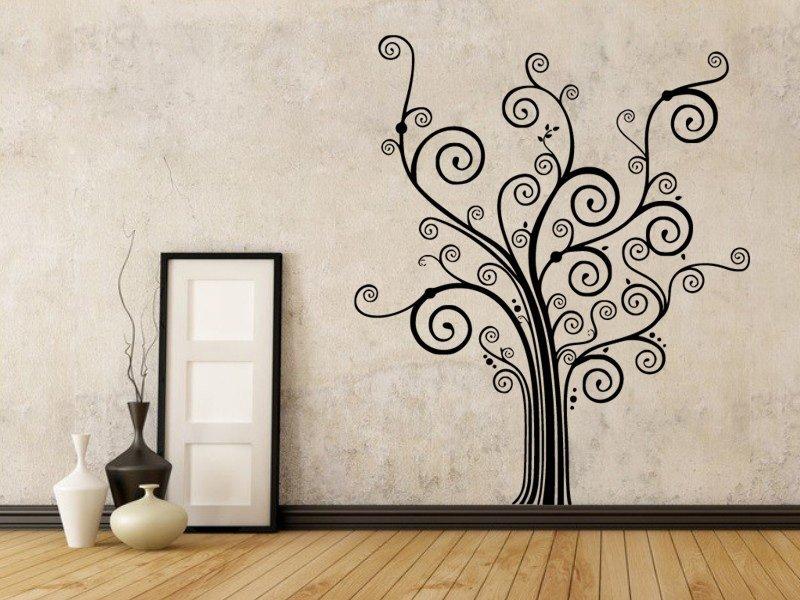 Samolepky na zeď Strom 0233 - Samolepící dekorace a nálepka na stěnu