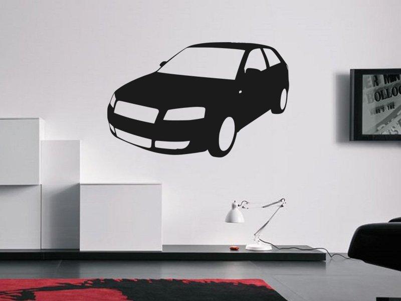 Samolepky na zeď Auto 028 - Samolepící dekorace a nálepka na stěnu
