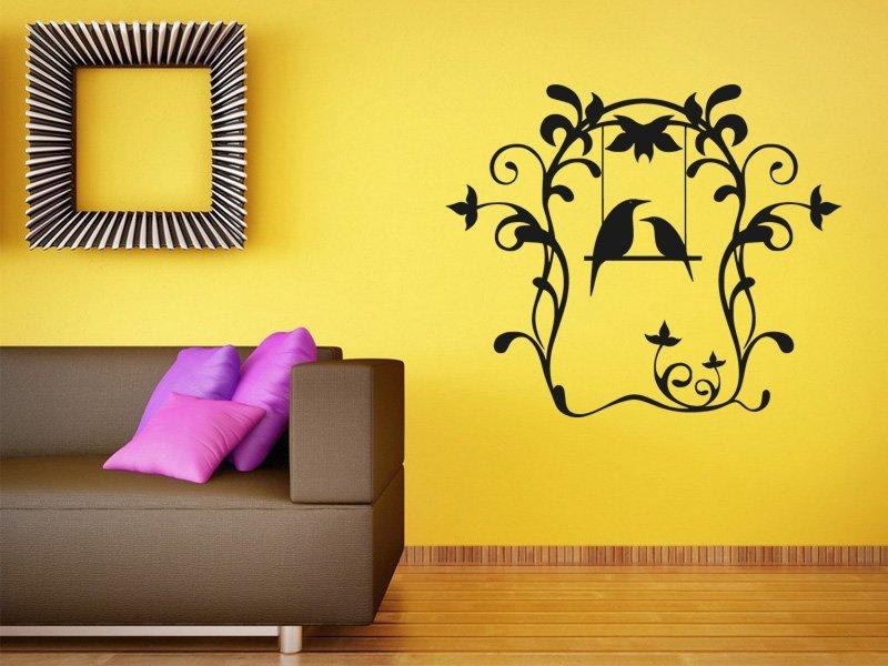 Samolepky na zeď Ptáci 001 - Samolepící dekorace a nálepka na stěnu
