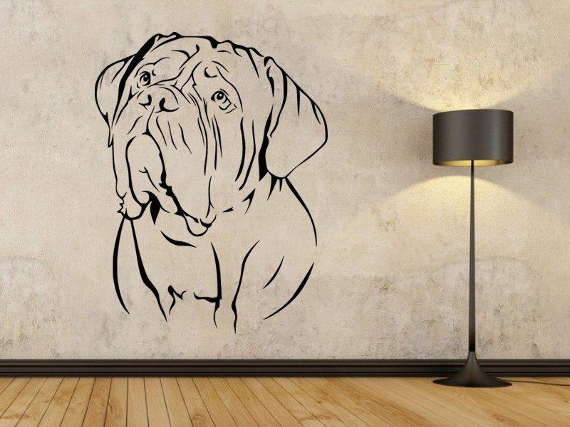 Samolepky na zeď Doga 001 - Samolepící dekorace a nálepka na stěnu