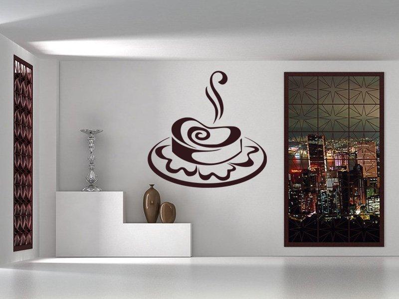 Samolepky na zeď Roláda 0111 - Samolepící dekorace a nálepka na stěnu