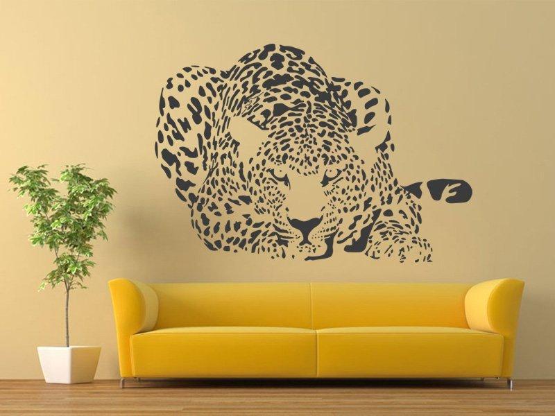 Samolepka na zeď Leopard 004