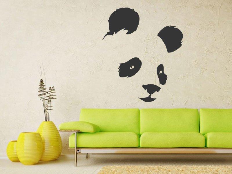Samolepky na zeď Panda 002 - Samolepící dekorace a nálepka na stěnu