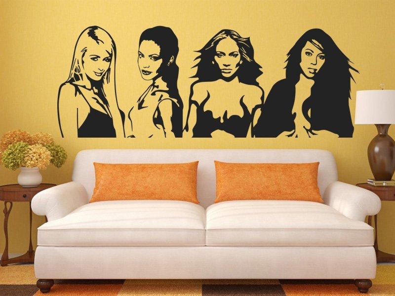 Samolepky na zeď Celebrity 001 - Samolepící dekorace a nálepka na stěnu