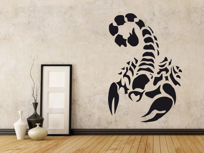 Samolepky na zeď Škorpión 002 - Samolepící dekorace a nálepka na stěnu