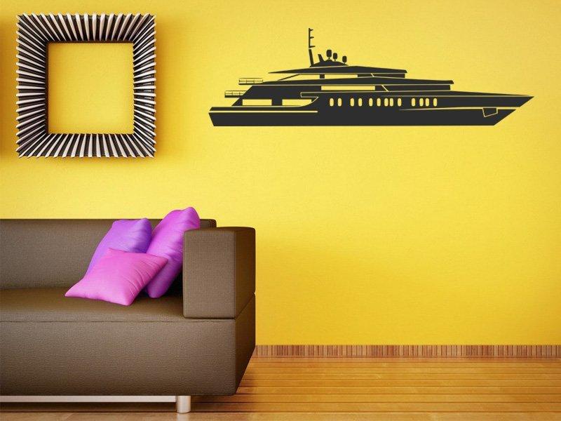 Samolepky na zeď Plachetnice 004 - Samolepící dekorace a nálepka na stěnu