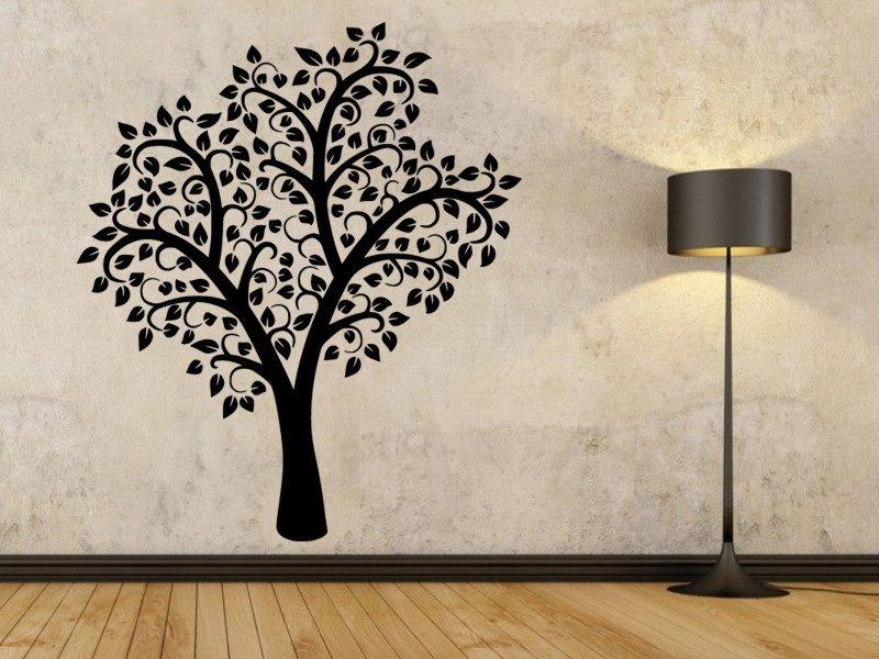Samolepky na zeď Strom 0198 - Samolepící dekorace a nálepka na stěnu