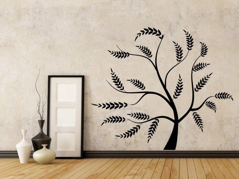 Samolepky na zeď Strom 0231 - Samolepící dekorace a nálepka na stěnu