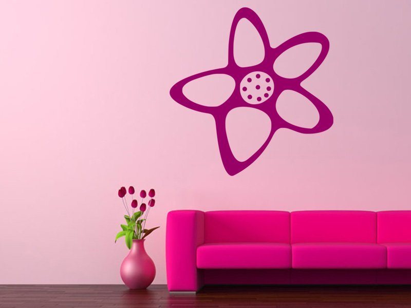 Samolepky na zeď Kytička 001 - Samolepící dekorace a nálepka na stěnu