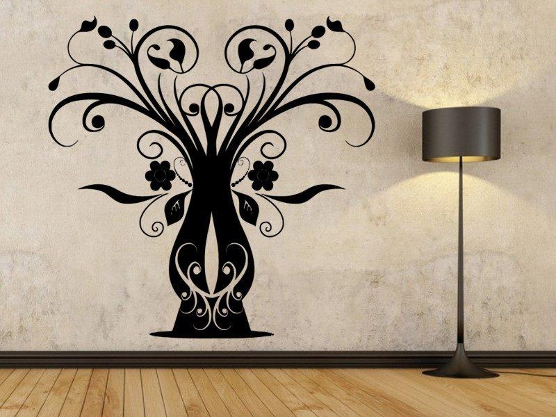 Samolepky na zeď Strom 047 - Samolepící dekorace a nálepka na stěnu