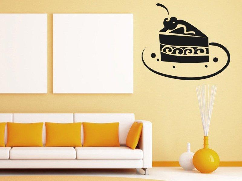 Samolepky na zeď Dort 0013 - Samolepící dekorace a nálepka na stěnu