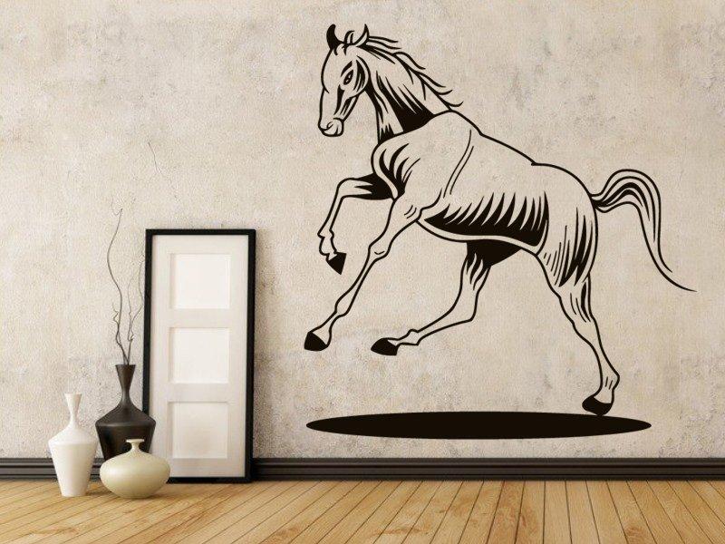 Samolepky na zeď Kůň 0367 - Samolepící dekorace a nálepka na stěnu