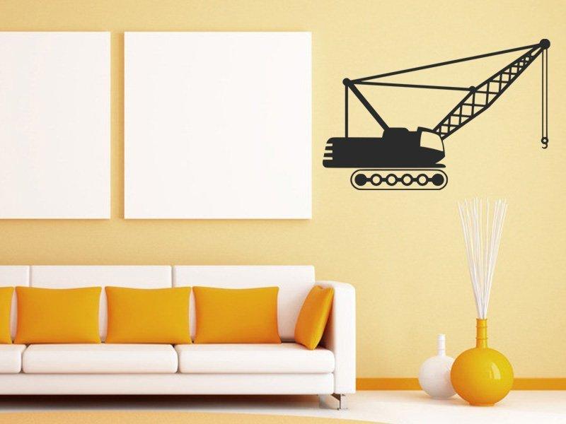Samolepky na zeď Jeřáb 001 - Samolepící dekorace a nálepka na stěnu