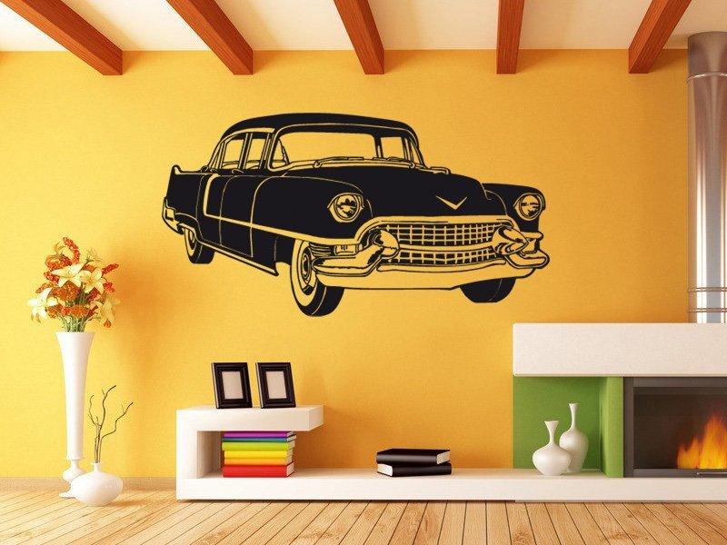 Samolepky na zeď Auto 006 - Samolepící dekorace a nálepka na stěnu