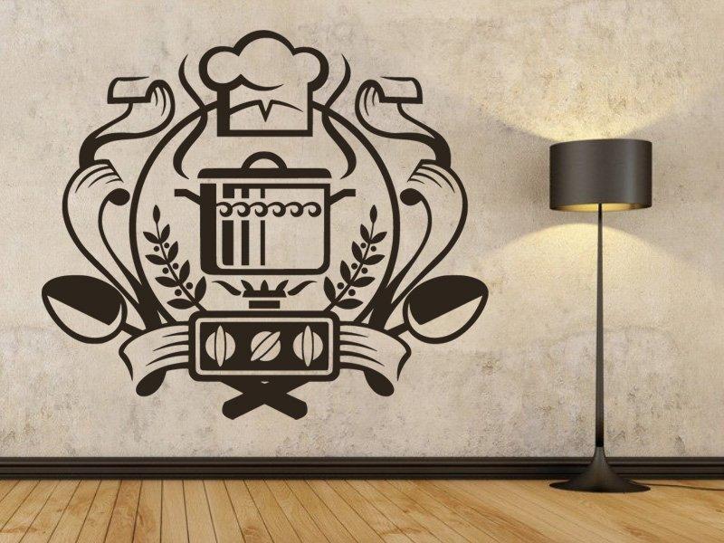 Samolepky na zeď Trouba 0141 - Samolepící dekorace a nálepka na stěnu