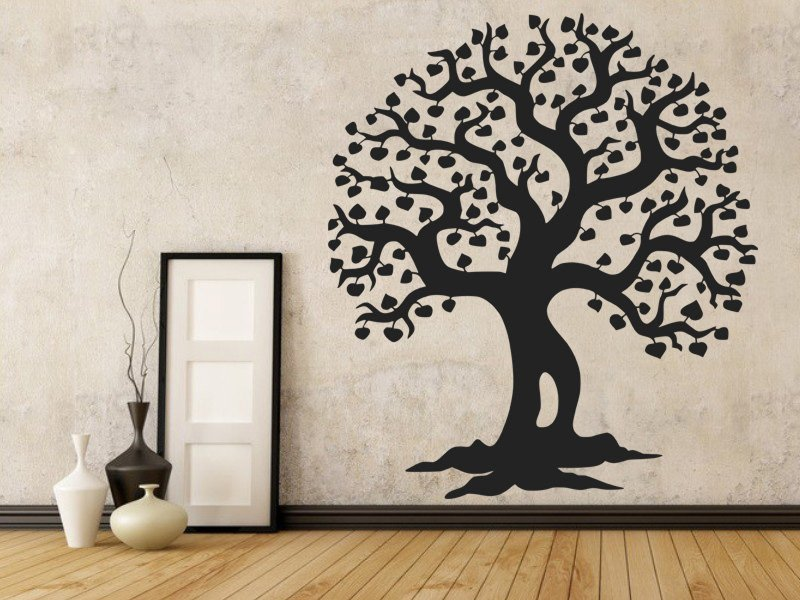 Samolepky na zeď Strom 012 - Samolepící dekorace a nálepka na stěnu