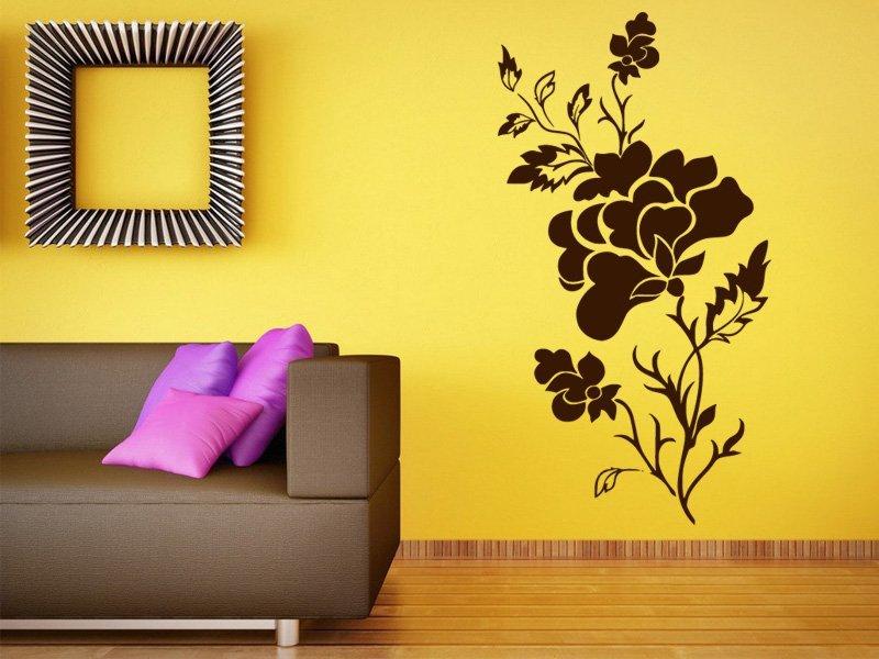 Samolepky na zeď Růže 010 - Samolepící dekorace a nálepka na stěnu