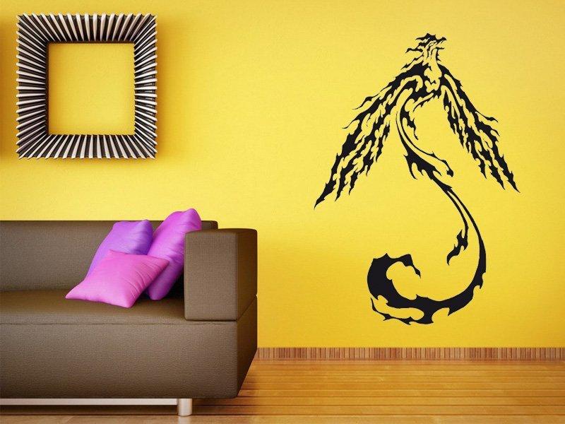 Samolepky na zeď Fénix 002 - Samolepící dekorace a nálepka na stěnu