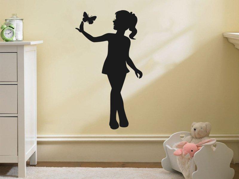 Samolepky na zeď Dívka 019 - Samolepící dekorace a nálepka na stěnu