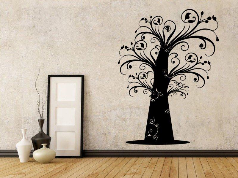 Samolepky na zeď Strom 048 - Samolepící dekorace a nálepka na stěnu