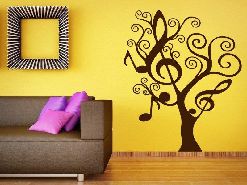 Samolepky na zeď Strom 019 - Samolepící dekorace a nálepka na stěnu