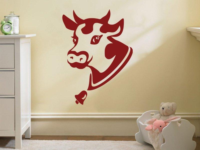 Samolepky na zeď Kráva 003