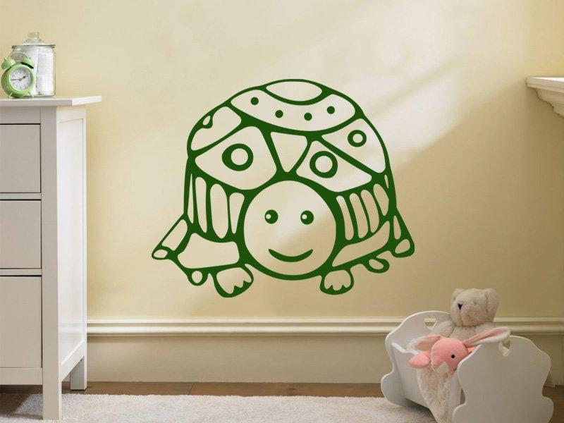 Samolepky na zeď Želvička 001 - Samolepící dekorace a nálepka na stěnu