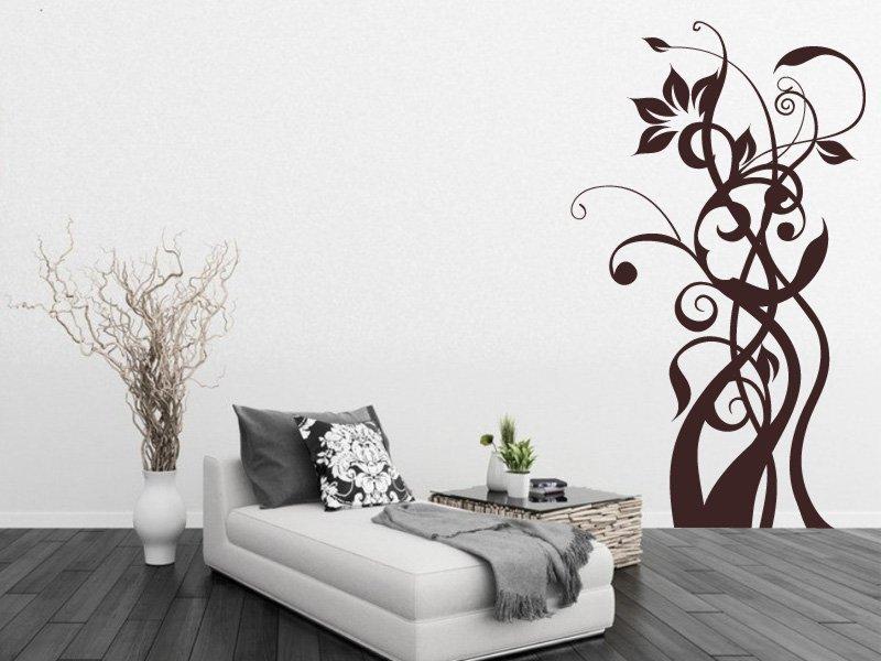 Samolepky na zeď Rostlina 010 - Samolepící dekorace a nálepka na stěnu