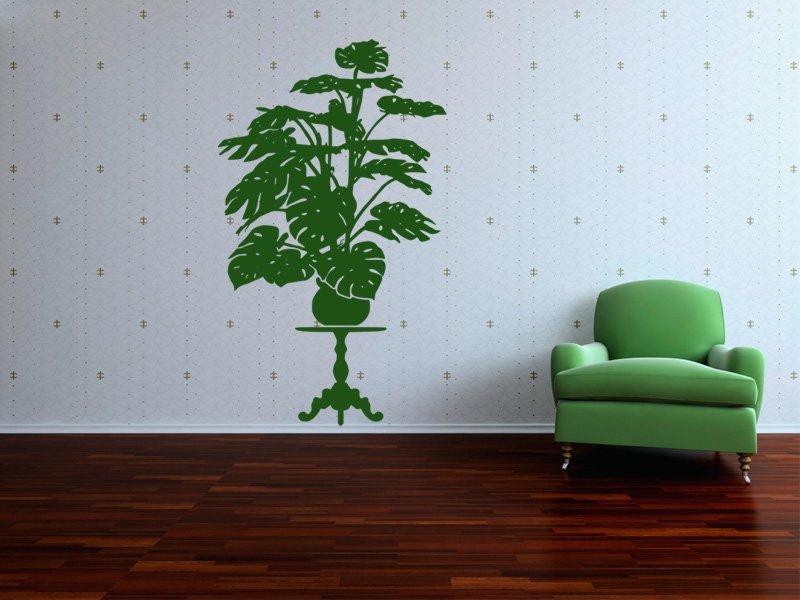 Samolepky na zeď Rostlina 016 - Samolepící dekorace a nálepka na stěnu