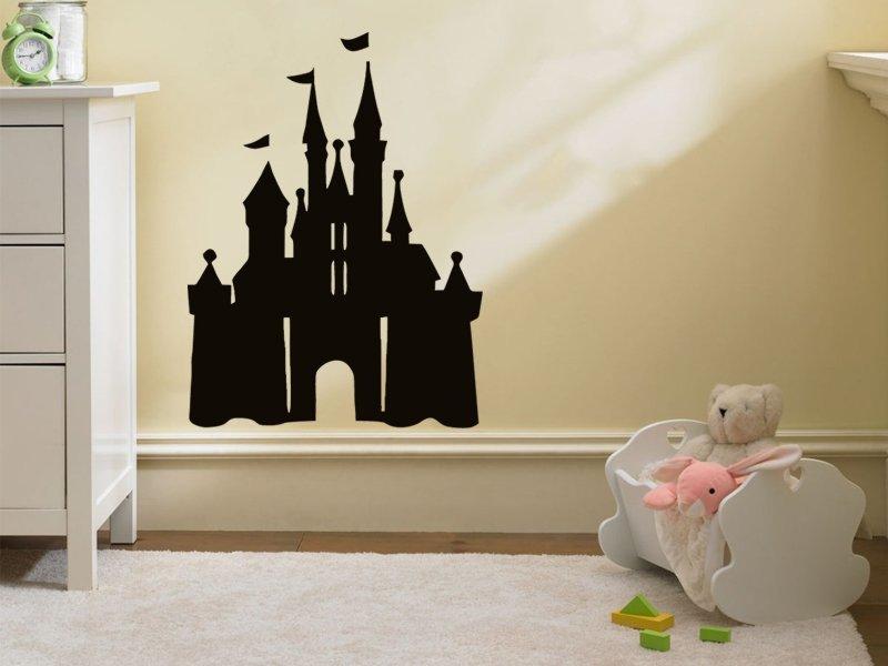 Samolepky na zeď Hrad 001 - Samolepící dekorace a nálepka na stěnu