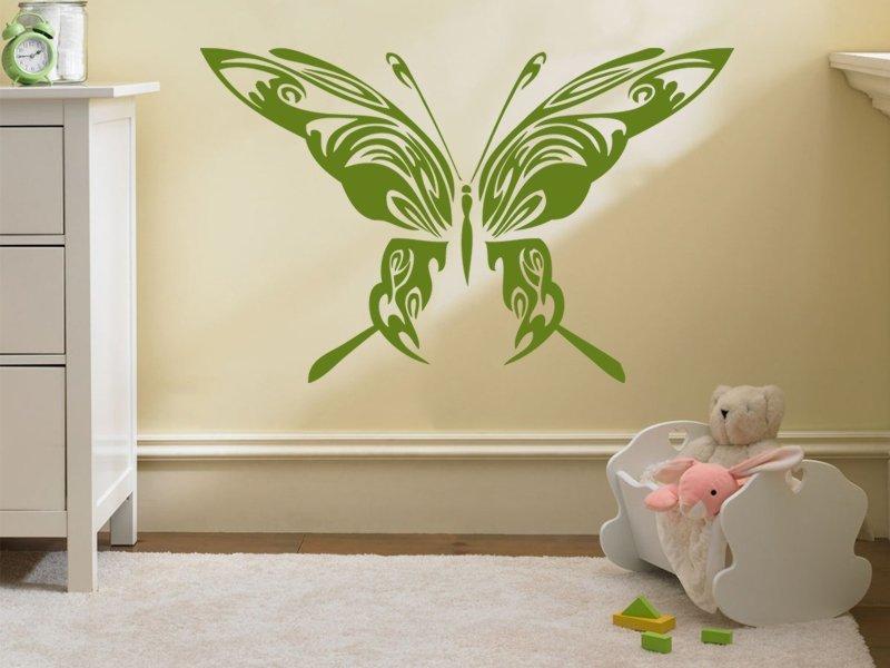 Samolepky na zeď Motýl 014 - Samolepící dekorace a nálepka na stěnu
