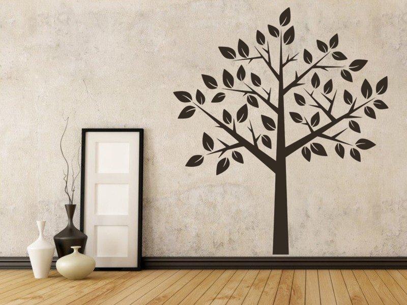 Samolepky na zeď Strom 016 - Samolepící dekorace a nálepka na stěnu