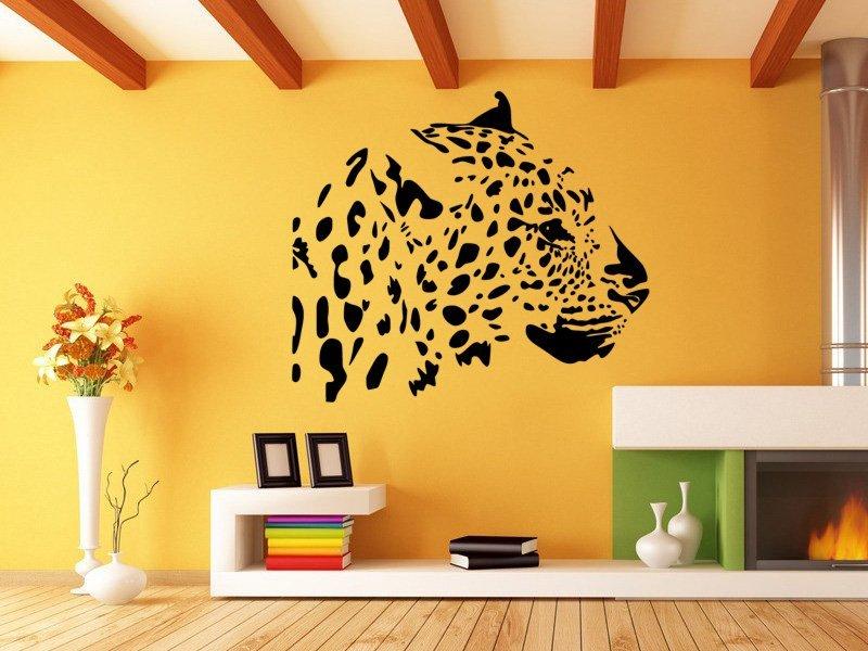 Samolepky na zeď Leopard 005 - Samolepící dekorace a nálepka na stěnu