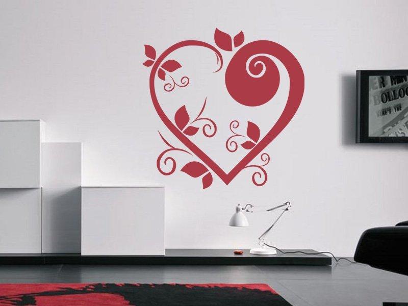 Samolepky na zeď Srdce 003