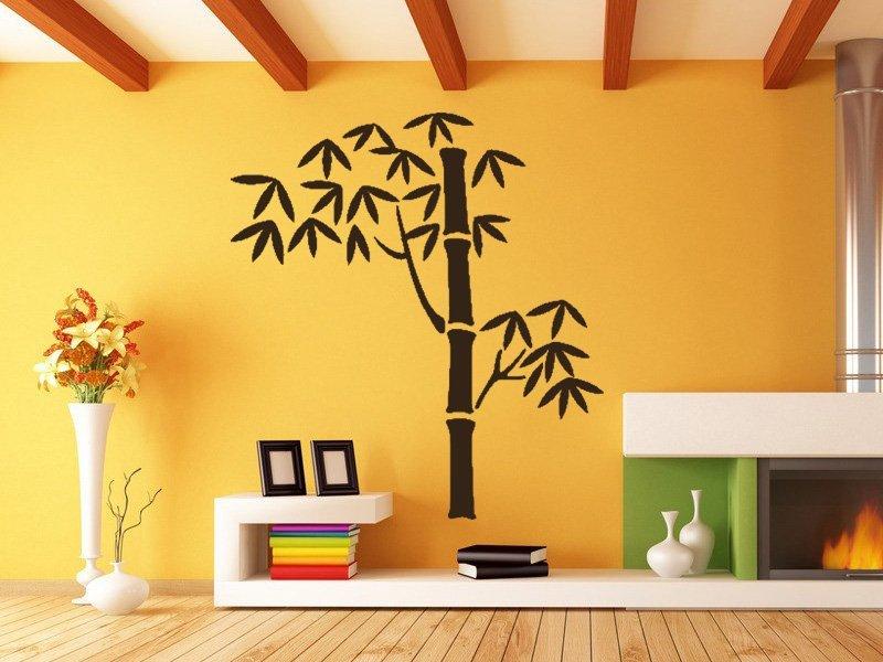 Samolepky na zeď Bambus 006 - Samolepící dekorace a nálepka na stěnu