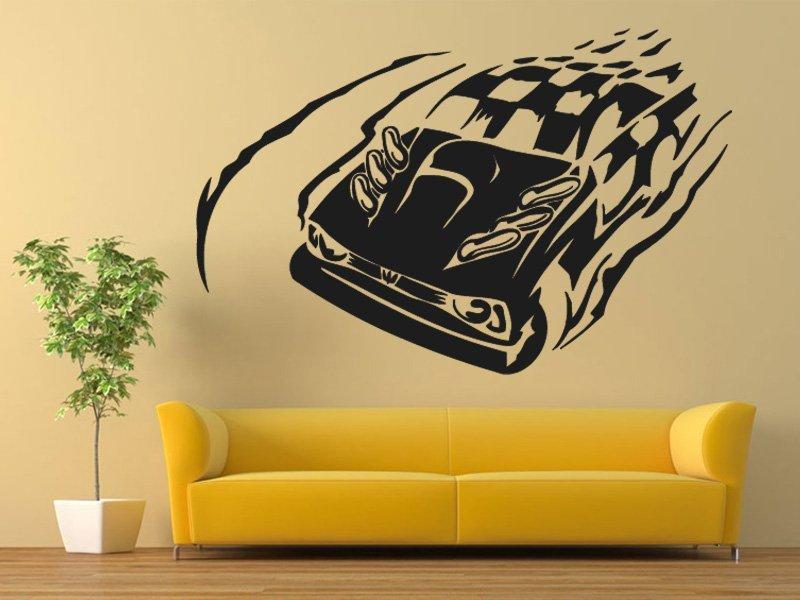 Samolepky na zeď Auto 022 - Samolepící dekorace a nálepka na stěnu
