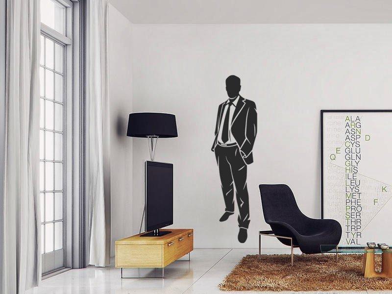 Samolepky na zeď Obchodník 002 - Samolepící dekorace a nálepka na stěnu