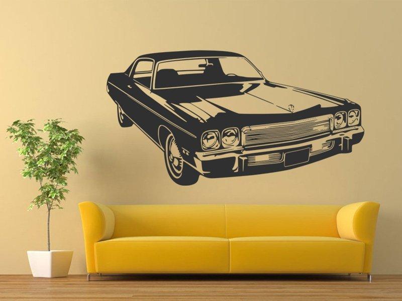 Samolepky na zeď Auto 056 - Samolepící dekorace a nálepka na stěnu