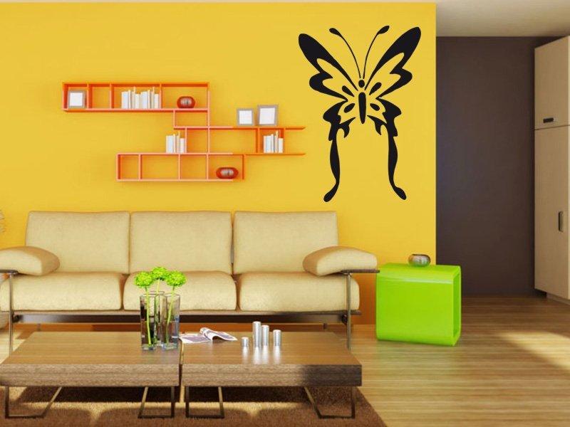 Samolepky na zeď Motýl 001 - Samolepící dekorace a nálepka na stěnu