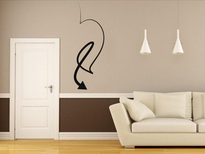 Samolepky na zeď Šipka 021 - Samolepící dekorace a nálepka na stěnu