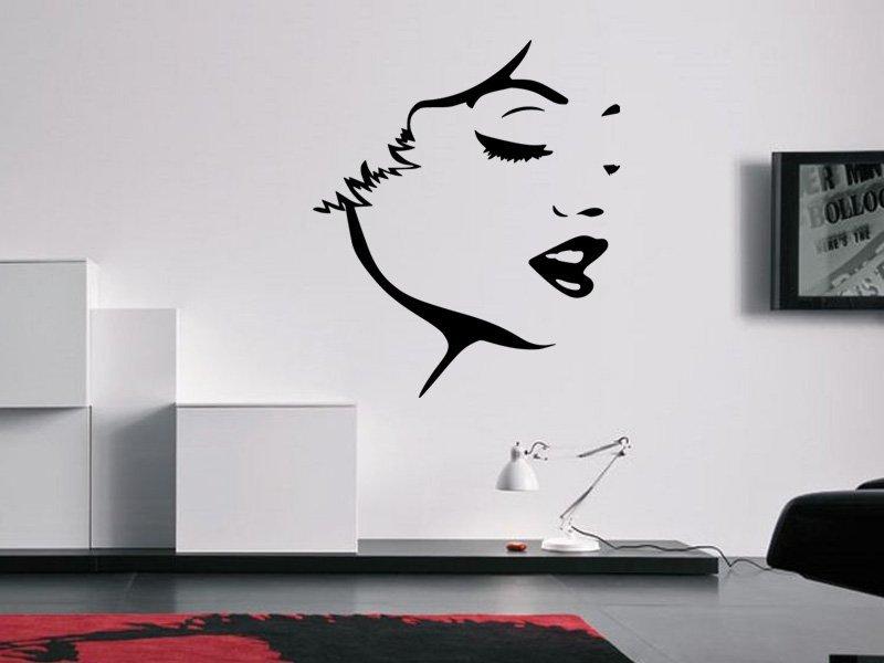 Samolepky na zeď Marilyn Monroe 1358 - Samolepící dekorace a nálepka na stěnu