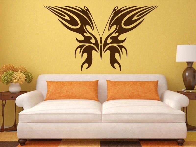 Samolepky na zeď Motýl 013 - Samolepící dekorace a nálepka na stěnu